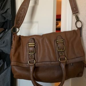 Handbags - BROWN Satchel purse 👜